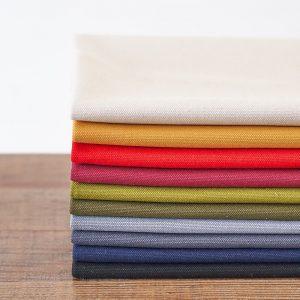 柔らか帆布で縫いやすいキャンバストートの作り方|トートバッグ|初心者のための洋裁メディア縫いナビ|丸石織物|使用した生地|8号帆布