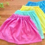 【型紙あり!】簡単かわいい子ども用スカートの作り方!100cm/110cm/120cm/130cm|子供服作り方