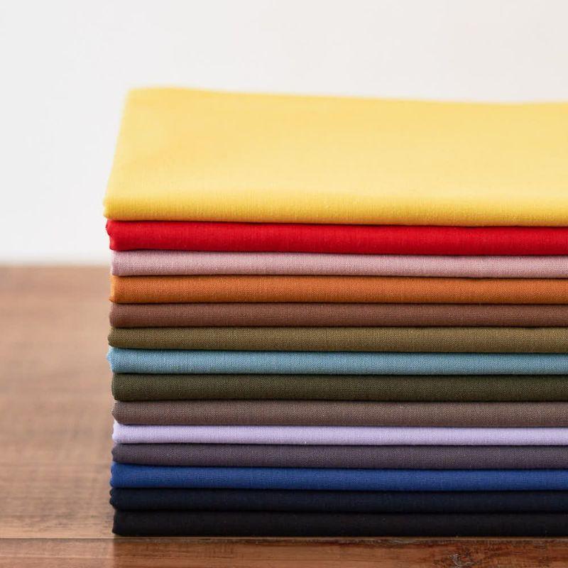 綿ポリ交織ダンガリー無地濃色 |生地のマルイシ|丸石織物