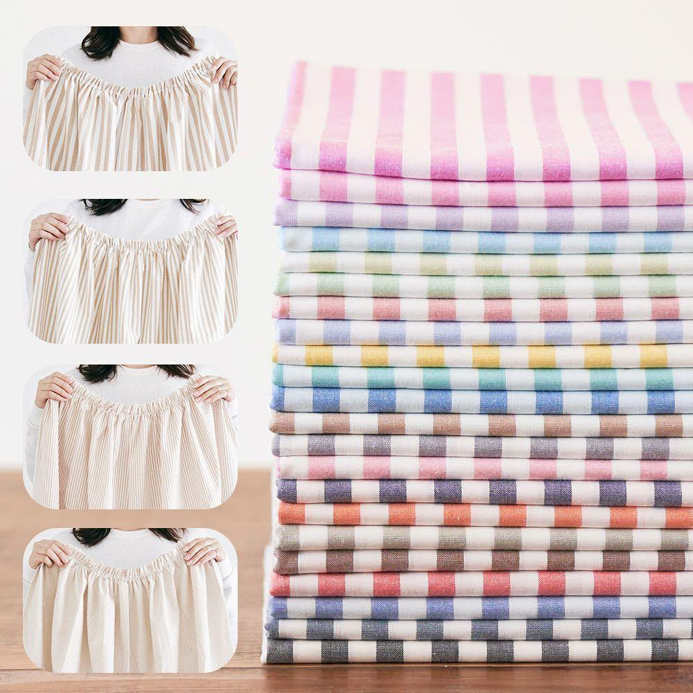 綿ポリ交織ダンガリーストライプ|生地のマルイシ|丸石織物