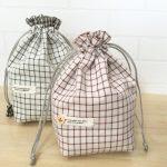 簡単!フリル口がかわいい巾着袋の作り方|ハンドメイド初心者の為の洋裁メディア縫いナビ|丸石織物
