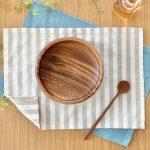 簡単!シンプルな裏地なしランチマットの作り方完成写真|ハンドメイド初心者のための洋裁メディア縫いナビ|丸石織物
