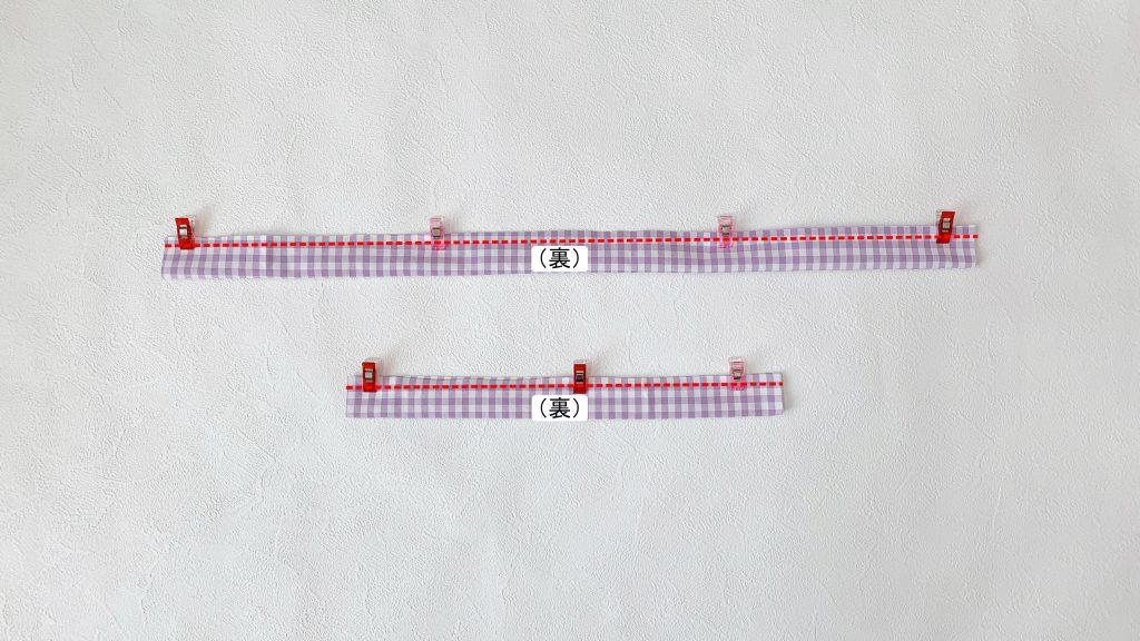ギャザーエプロンの作り方|ゴムひもを作る|ハンドメイド 初心者のための洋裁メディア縫いナビ|丸石織物