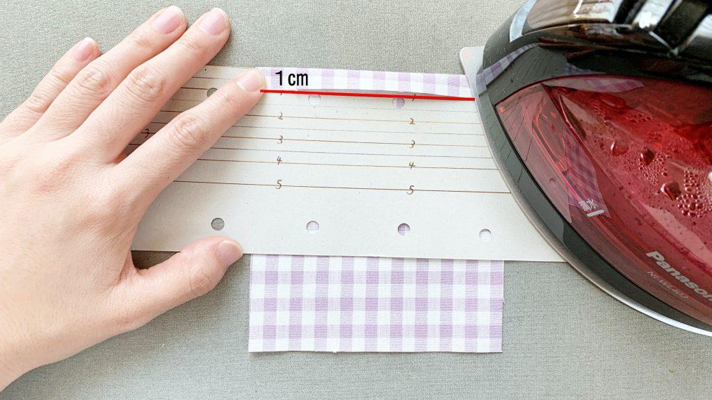 ギャザーエプロンの作り方|ポケットを作る|ハンドメイド 初心者のための洋裁メディア縫いナビ|丸石織物