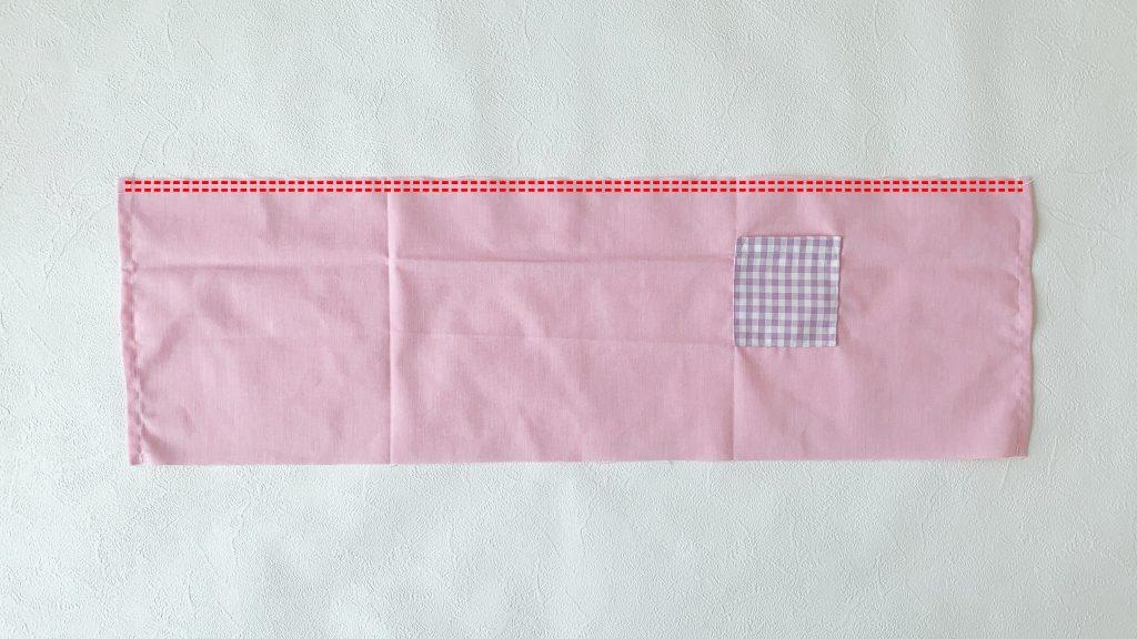 ギャザーエプロンの作り方|粗ミシンを2本かける|ハンドメイド 初心者のための洋裁メディア縫いナビ|丸石織物