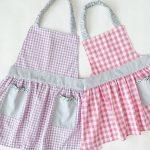 【型紙あり!】かわいい!洋服より簡単な子ども用ギャザーエプロンの作り方