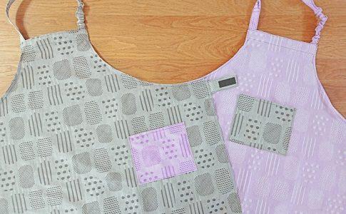 リンクコーデにおすすめ!かわいい親子エプロンの作り方|縫いナビ|生地のマルイシが運営するハンドメイド初心者向け洋裁メディア