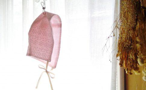ベビー用の帽子ベビーボンネット|ハンドメイド初心者の為の洋裁メディア縫いナビ|丸石織物