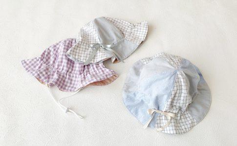 熱中症対策に!ハンドメイド初心者さんにもおすすめかわいい子供用チューリップハットの作り方|ハンドメイド 初心者のための洋裁メディア縫いナビ|丸石織物