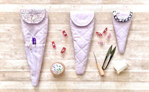 【ハギレ活用!】簡単かわいいはさみケースの作り方|ハンドメイド初心者のための洋裁メディア縫いナビ