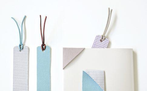 子どもと一緒に作ってみよう!はぎれで簡単ブックマーカーの作り方|完成写真|ハンドメイド初心者のための洋裁メディア縫いナビ|丸石織物