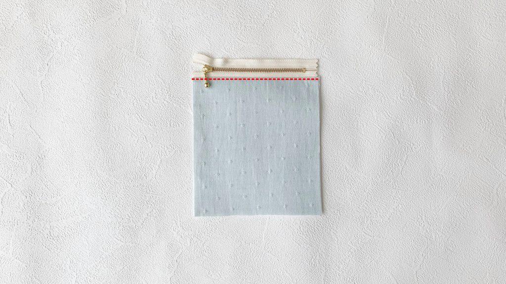 スマホポーチの作り方|ファスナーポケットに押さえミシンする|ハンドメイド 初心者のための洋裁メディア縫いナビ|丸石織物
