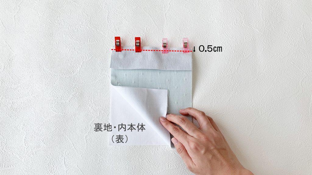スマホポーチの作り方|裏地内布本体をつける|ハンドメイド 初心者のための洋裁メディア縫いナビ|丸石織物