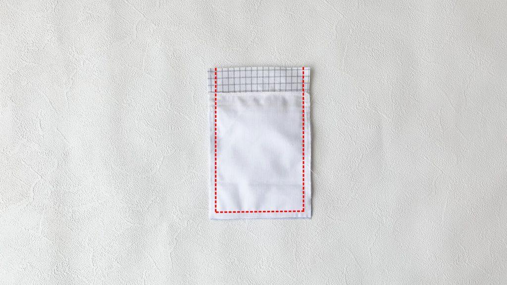 スマホポーチの作り方|フリル付き本体を中表で縫う|ハンドメイド 初心者のための洋裁メディア縫いナビ|丸石織物