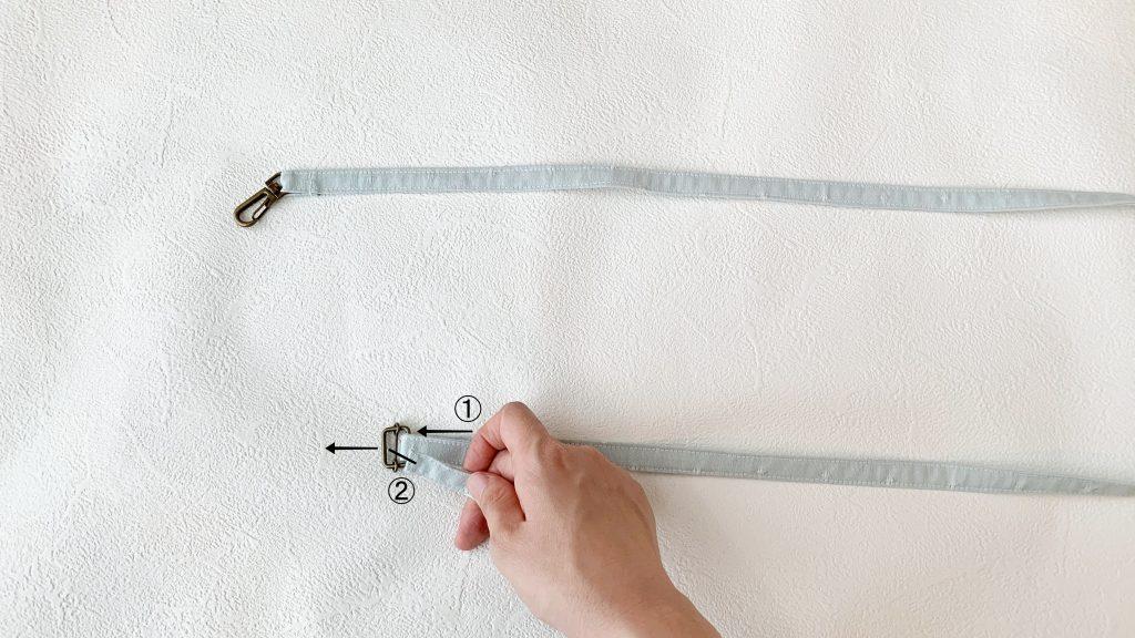 スマホポーチの作り方|移動カンをつける|ハンドメイド 初心者のための洋裁メディア縫いナビ|丸石織物