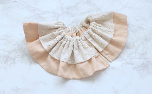 スナップなしのフリルスタイの作り方-完成写真|ハンドメイド 初心者のための洋裁メディア縫いナビ|丸石織物