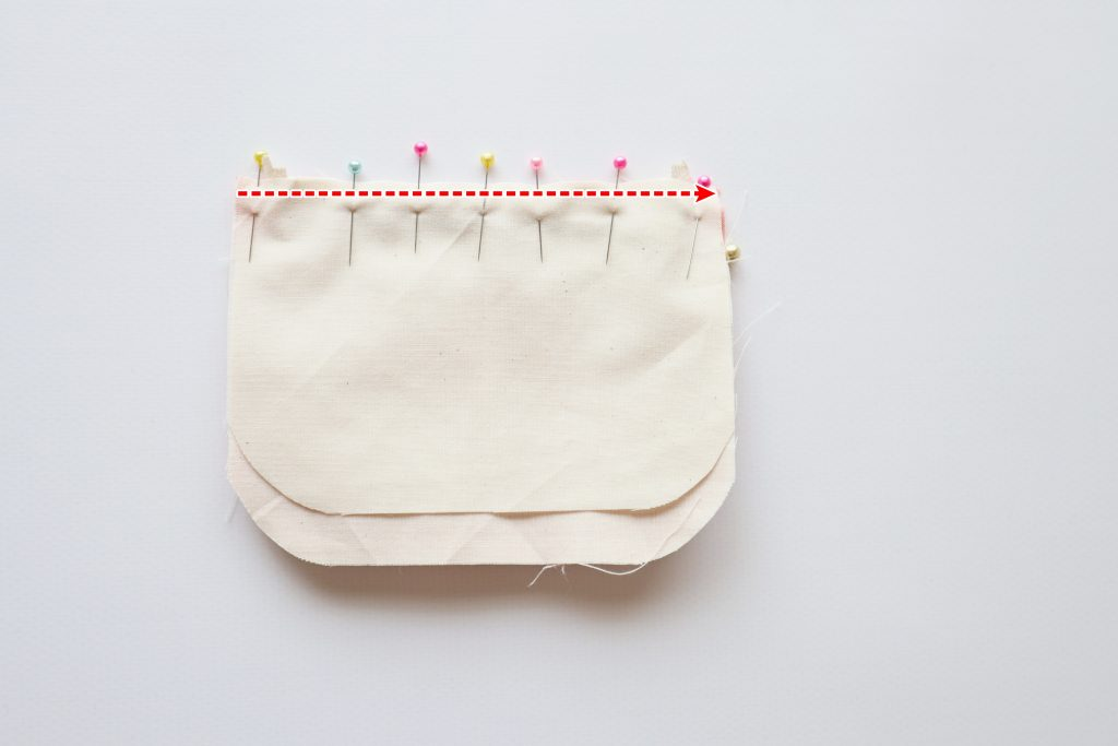 【ハギレ活用!】ハギレと100均材料で簡単かわいい小さめフリルポーチの作り方/丸石織物/ハンドメイド初心者/ファスナー付け