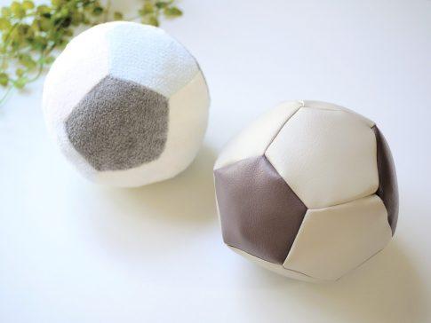 ベビーギフトにもおすすめ!はぎれで作れる簡単かわいい布ボールの作り方|完成写真|ハンドメイド初心者のための洋裁メディア縫いナビ|丸石織物