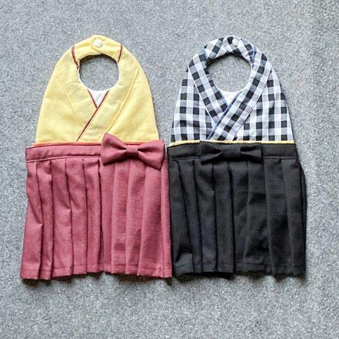お孫さんのお祝い(初節句、お食い初め、ハーフバースデーなど)におすすめ!袴風スタイの作り方|仕上り|ハンドメイド初心者のための洋裁メディア縫いナビ|丸石織物